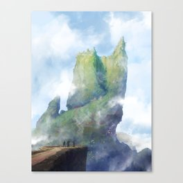 Mur Canvas Print