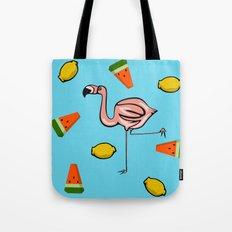 Flamingo Tropical Tote Bag