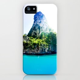 Tropical Island iPhone Case