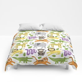 Kids Jungle Design Comforters