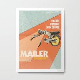 Mailer Barbary Metal Print