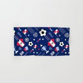 Love Football Background Hand & Bath Towel