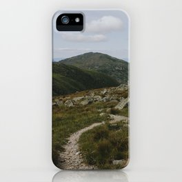 Summer in the White Mountains iPhone Case