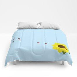 The Ladybug Brigade Comforters