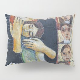 Holy Family #2 By Nabil Anani Pillow Sham