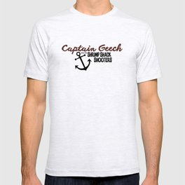 Captain Geech and the Shrimp Shack Shooters T-shirt