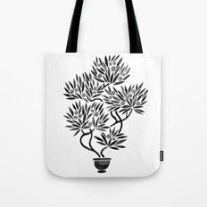 Bonsai Fruit Tree – Black Palette Tote Bag