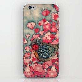 Blossom Birds iPhone Skin