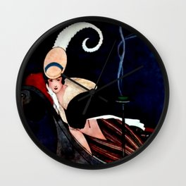 George Wolfe Plank Art Deco Magazine Cover #12 Wall Clock