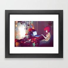 Internet Escape Framed Art Print