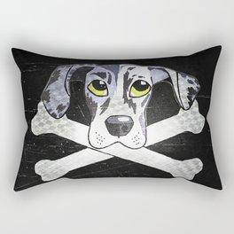 Nyx the Emo Great Dane Rectangular Pillow