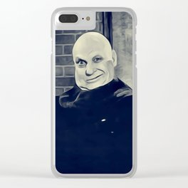 Jackie Coogan, Uncle Fester, Addams Family Clear iPhone Case