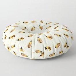 Honey bees Floor Pillow