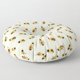 Honey bees Floor Pillow