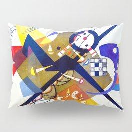 Vassily Kandinsky - Auf Weiss II  (on white II) Pillow Sham