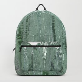 Gray-green Backpack