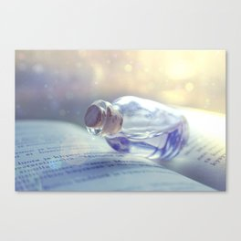 Vial of. .. Canvas Print