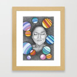 Origin Framed Art Print