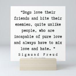 12|   Sigmund Freud Quotes | 190926 Mini Art Print