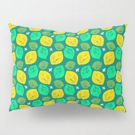 Lemon Lime Pattern Pillow Sham