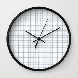 Grid - The Simples  Wall Clock