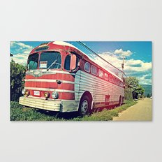 Roadie Canvas Print