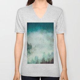 Galaxy Forest Unisex V-Neck