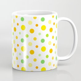 Citrus Spots – Yellow, Orange and Green Spotty Pattern Coffee Mug