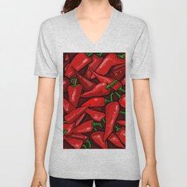 Peppers Unisex V-Neck