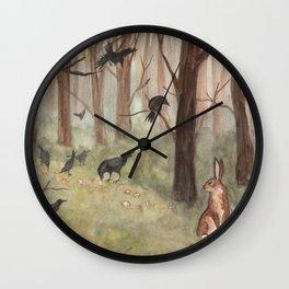 Breadcrumbs Wall Clock