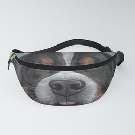 Drawing Bernese Mountain Dog 6 Fanny Pack