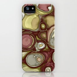 Canyon rocks series No. 4 of 10 iPhone Case