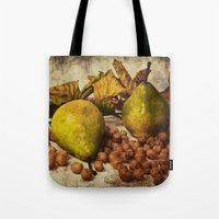 fruits Tote Bags featuring Fruits by Angela Dölling, AD DESIGN Photo + Photo