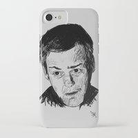greg guillemin iPhone & iPod Cases featuring Greg Lestrade Sketch by Soyarts