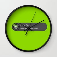 mlp Wall Clocks featuring MLP: Pinkie Box  by turokevie