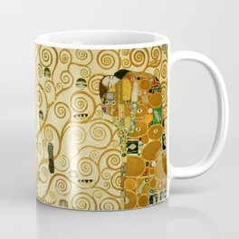 Gustav Klimt The Tree Of Life Coffee Mug