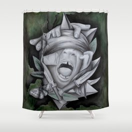 Chaotic Disorders II Shower Curtain