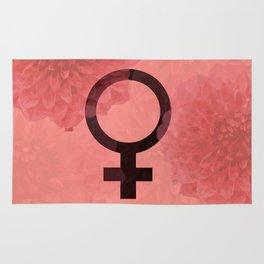 Female Symbol Rug