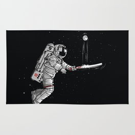 Space cricket Rug