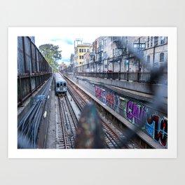 Graffiti 'L' Art Print