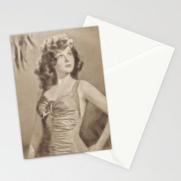 Susan Hayward, Actress Stationery Cards