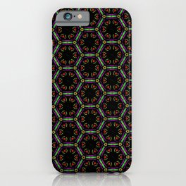 Awesome Doodle Pattern 519-1B iPhone Case