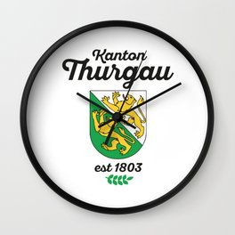 Canton of Thurgau Wall Clock