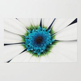 White petals Rug