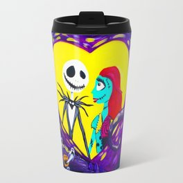 Jack and Sally Travel Mug