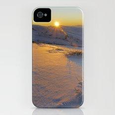 Mountain light iPhone (4, 4s) Slim Case