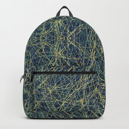 Hamingja - Colorful Decorative Abstract Art Pattern Backpack
