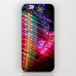 All Aboard the Starship carnival ride iPhone Skin