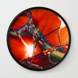 Distorted Romance Wall Clock
