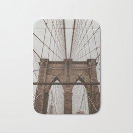 brooklyn bridge | Fine Art Travel Photography Bath Mat